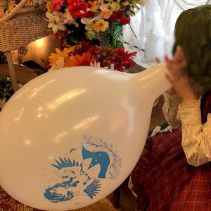 幽香さんの風船遊び
