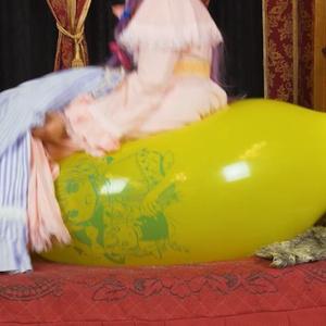 パチュリーさんの風船遊び