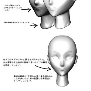 アタリ用・女性向け風モデル
