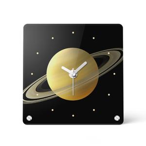 アクリル時計*土星