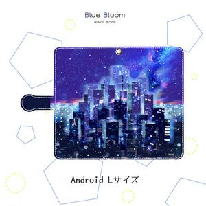 手帳型スマホケース*未来都市【Android】