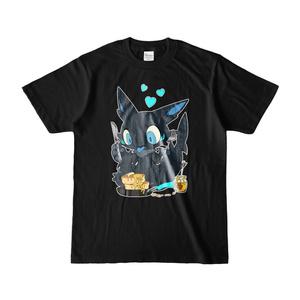 黒鮫竜Tシャツ【パンケーキ】