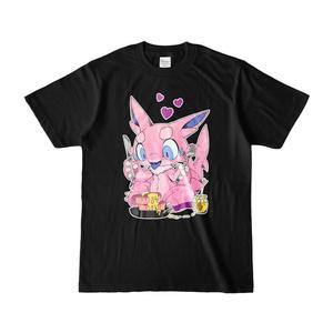 黒鮫竜Tシャツ【桜パンケーキ】