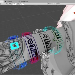 HologramArmbandShader