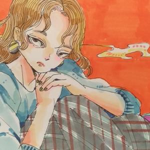ポストカードサイズ・カラー原画