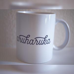 ロゴ入りマグカップ