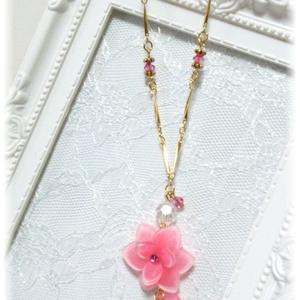 紫陽花-金平糖-ネックレス