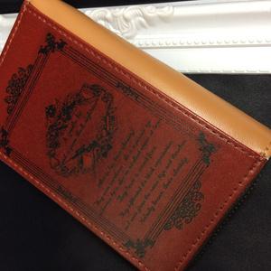 洋書風シリーズ*赤安赤コイン&パスケース、ICカードケース