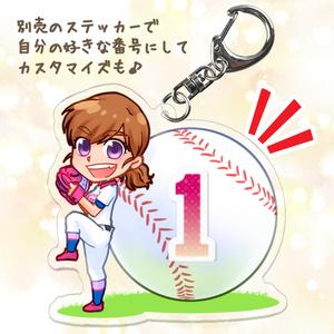 【Twitter企画】花鈴&ボールアクリルキーホルダー