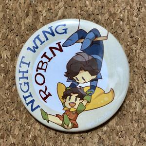 ナイトウィング、ロビン缶バッジ