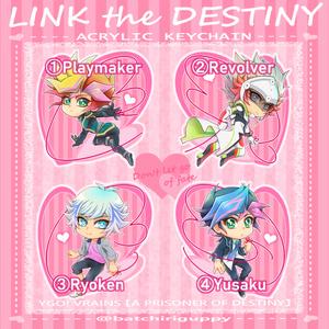 LINK the DESTINYアクリルキーホルダー