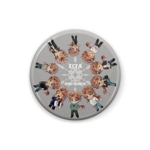 ミニゼータ10人缶バッジ(色違い3種)
