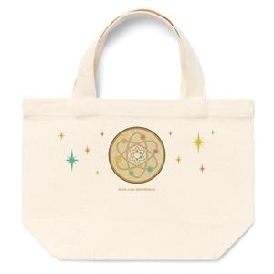 太陽系と星の軌道トートバッグ