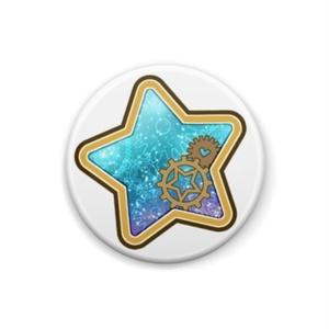 星と歯車の春夏秋冬缶バッジ(全4種 / 背景色違い各2種)