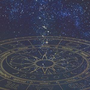 12星座と太陽系の軌道iPhoneケース