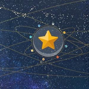 12星座と太陽系の軌道手帳型Androidケース