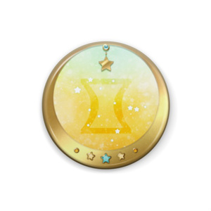 12星座缶バッジ(全12種)