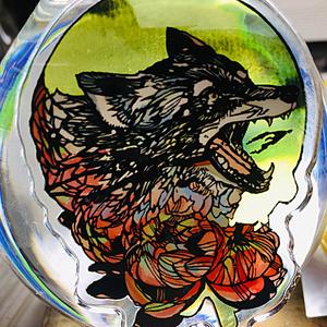 アクリルキーホルダー/狼の涙