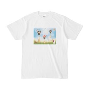 Tシャツ ロケットニャジラ