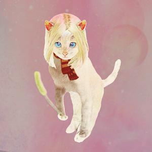 猫じゃらしとCAT GIRL