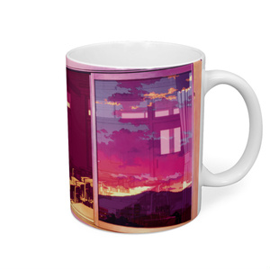 夕焼けマグカップ