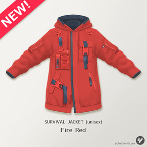 【VRoid】SURVIVAL JACKET (unisex)