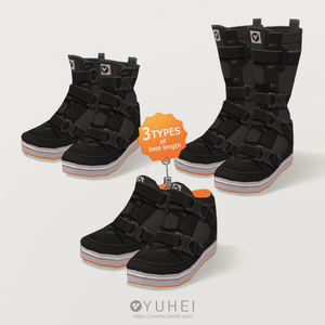 【VRoid】TACTICAL BOOTS