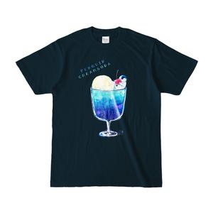 ペンギンクリームソーダTシャツ・ネイビー