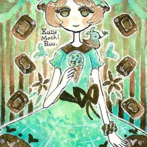 パスケース☆チョコレイトミント・モガさん