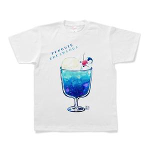 ペンギンクリームソーダTシャツ・ホワイト