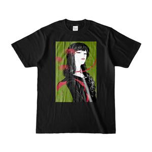 ひがんばなこさんTシャツ・黒