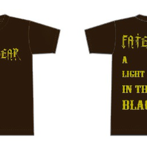 A Light in the Black Tシャツ 茶