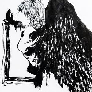 「天使」ポストカード