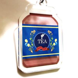 fallout76 「深蒸しニンジンの花のお茶モチーフアクキー」