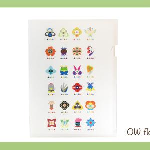 ◼︎overwatch◼︎ OWflower(クリアファイル)