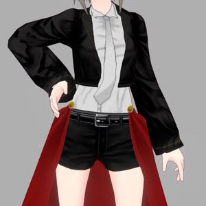 [VRoidテクスチャ]近代RPGでありそうな服