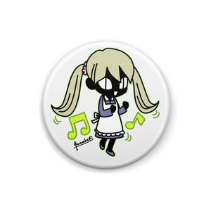 葱田アリス「イェイイェイ!」(缶バッジ04)