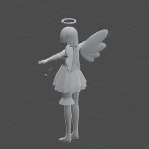教材用モデル天使ちゃん