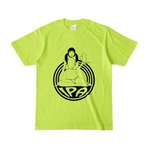 Girl & IPA Tee Color