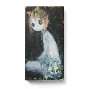 モバイルバッテリー  黒板Girl