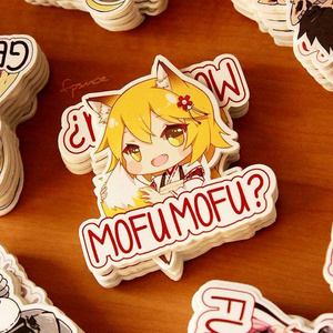 Anime Stickers by Rizumary