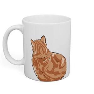 猫のナルト 大きめイラストマグ