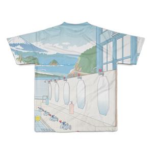 『下宿のお兄さん』第2巻表紙絵 銭湯柄フルグラフィックTシャツ