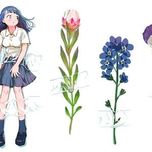 押し花シール