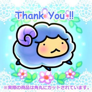 防水!「Thank You!!」 ステッカー(10枚セット)