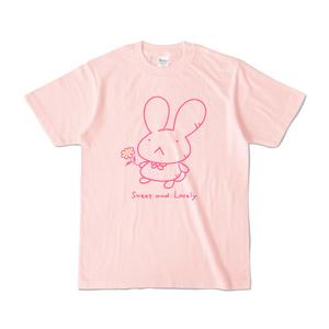 可愛いちーちゃんのシンプルTシャツ