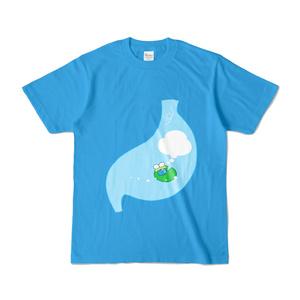 胃の中のかへる両面Tシャツ