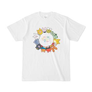 ともだちの輪カラフルTシャツ