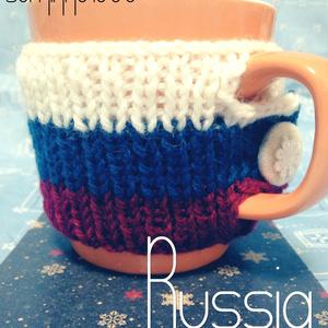 マグカップに着せる国旗:ロシア