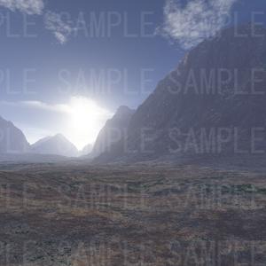 3D背景素材/遠景